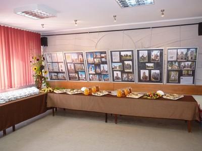 Wystawa historycznych miejsc pamięci znajdujących się na terenie gminy.