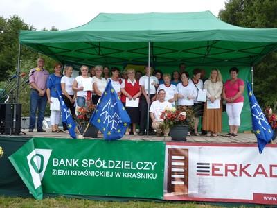 Laureaci konkursów organizowanych przez Urząd Gminy Gościeradów.