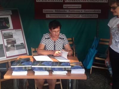 Promocja tomiku wierszy mieszkanki gminy Zofii Ortyl